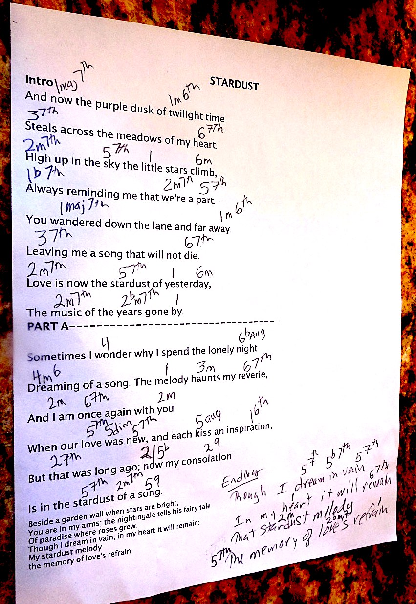 Chords and lyrics stars fell on alabama chords and lyrics graphicg bridge for stars fell on alabamag sheik of araby a smooth one stranger on the shore1g hexwebz Choice Image
